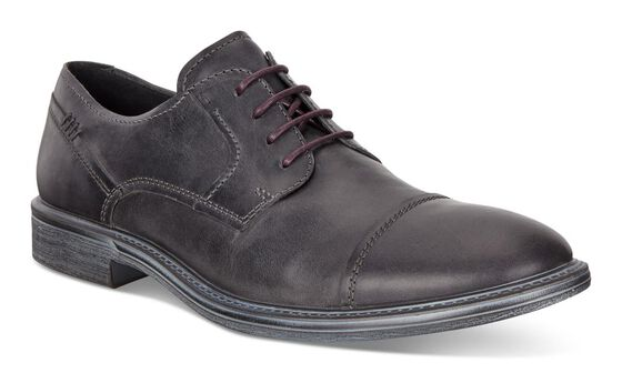 ECCO Knoxville Derby Cap Toe (MOONLESS)
