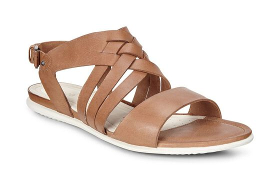 ECCO Touch Braided Sandal (WHISKY)