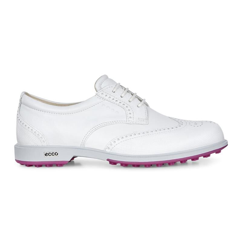Womens Shoes ECCO Golf Classic Golf Hybrid White/White