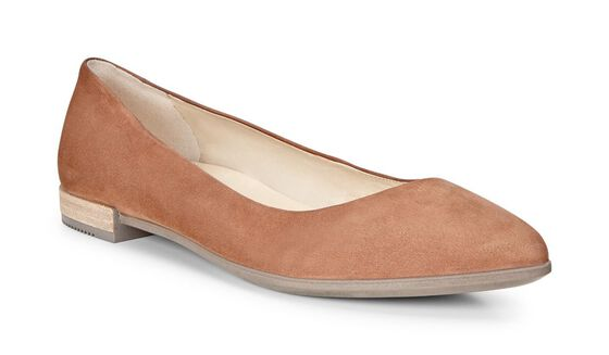 ECCO Shape Pointy Ballerina (CAMEL)