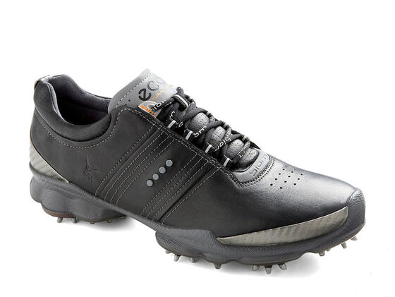 ECCO Mens BIOM Golf Hydromax (BLACK/STEEL)