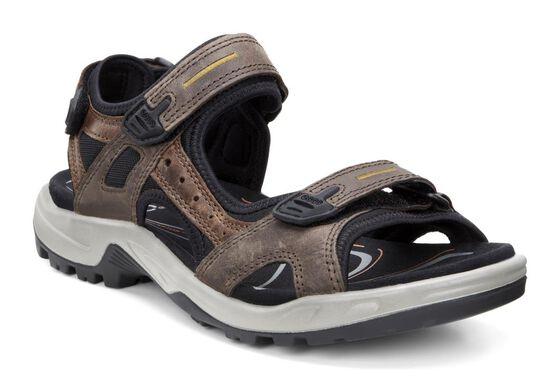 ECCO Mens Yucatan Sandal (ESPRESSO/COCOA BROWN/BLACK)