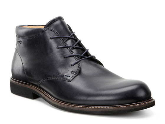 ECCO Findlay Chukka Boot (BLACK/MARINE)
