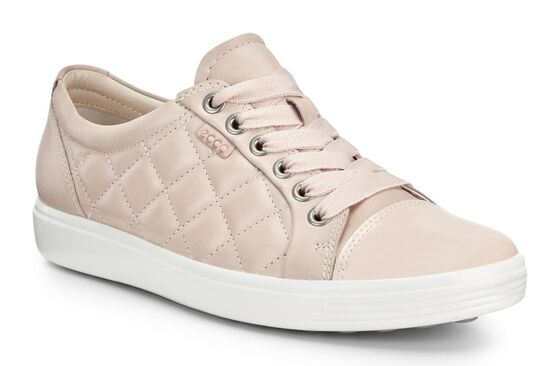 ECCO Soft 7 Quilted Tie (ROSE DUST/ROSE DUST)