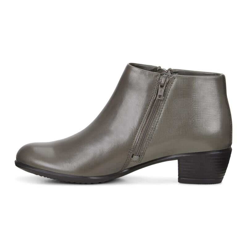 ... ECCO Touch 35 BootieECCO Touch 35 Bootie WARM GREY/WARM GREY (54190) ...