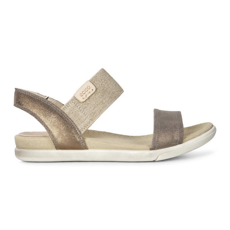 eccoDAMARA - Sandals - warm grey/black TtwplTF