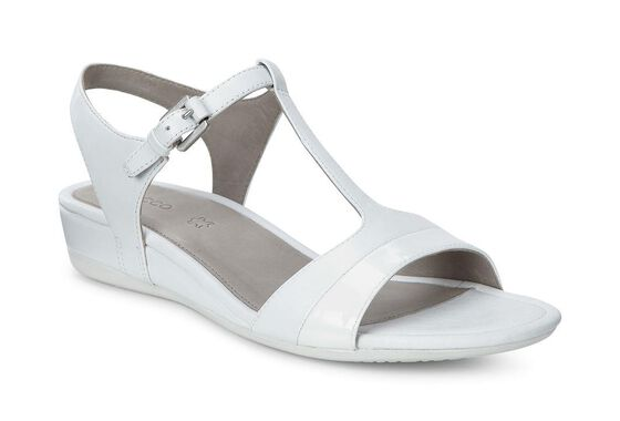 ECCO Touch 25 T-Strap Sandal (WHITE/WHITE)