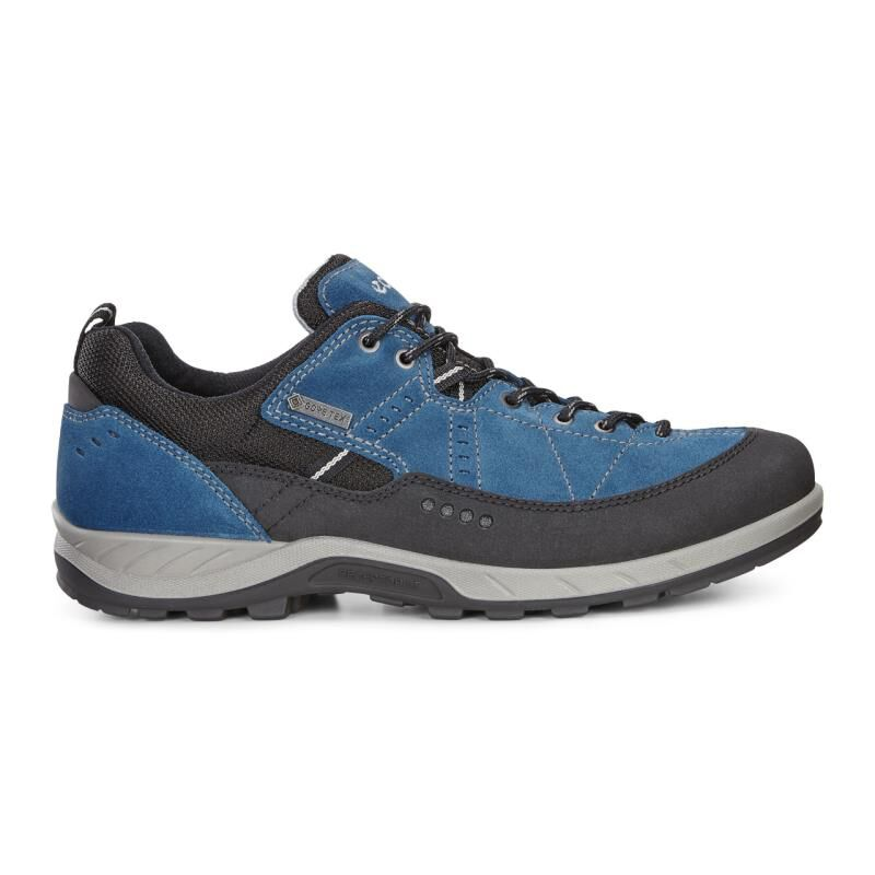 Mens Yura Hiking Shoe, Black Ecco