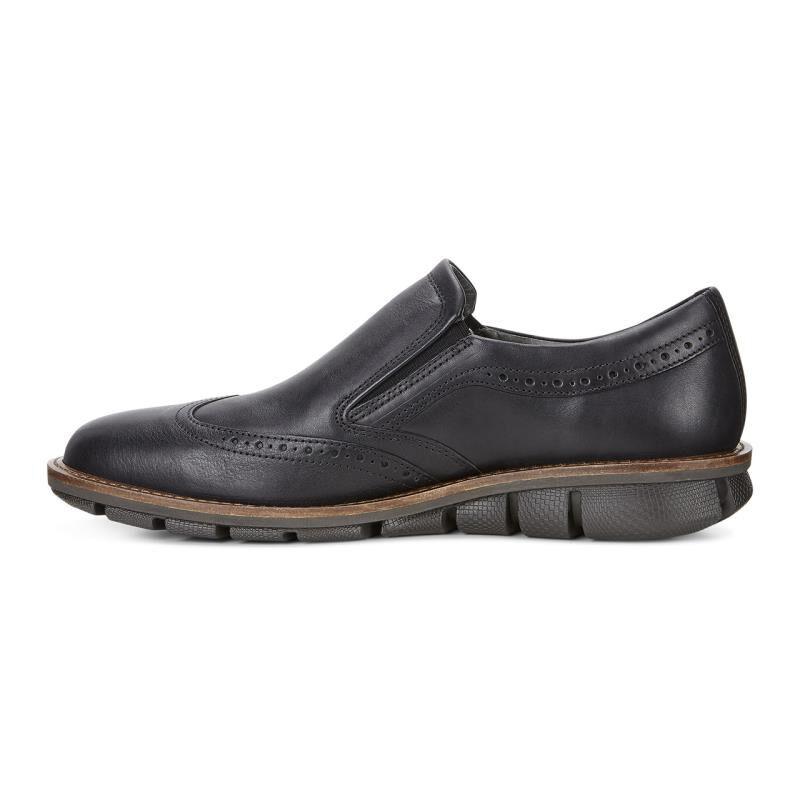 Black leather 'Jeremy' slip-on shoes cheapest price sale online AhflpG