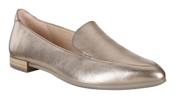 ECCO SHAPE POINTY BALLERINA Ba (WARM GREY)