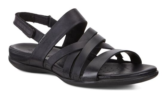 ECCO Flash Casual Sandal (BLACK)