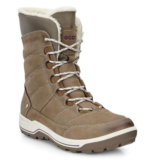 ECCO Womens Trace Lite High (BIRCH/DARK CLAY)