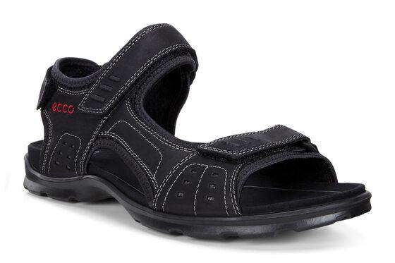 ECCO Mens Utah Sandal (BLACK)