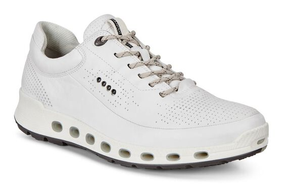 ECCO Mens Cool 2.0 Leather GTX (WHITE)