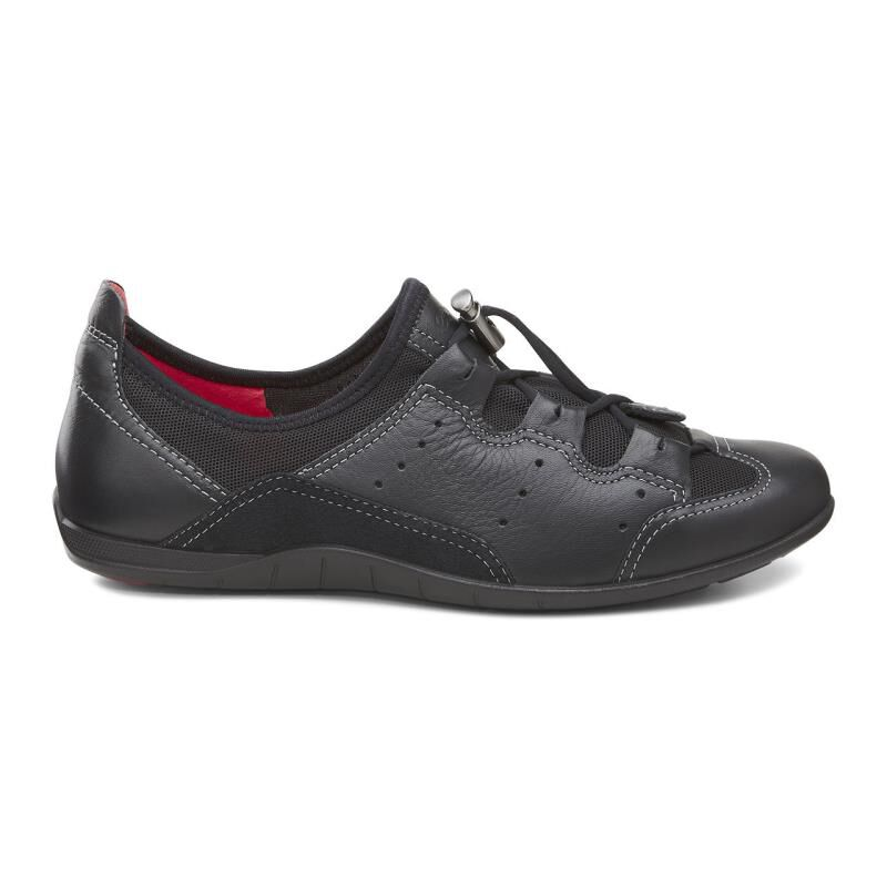 Amazing ECCO Bluma Toggle - Black/Black Casual Shoes