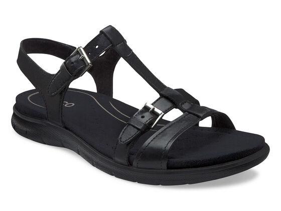 ECCO Babett Sandal T-Strap (BLACK)