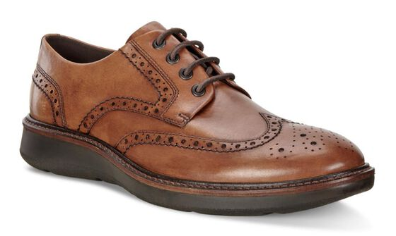 ECCO Lhasa Brogue Tie (LION)