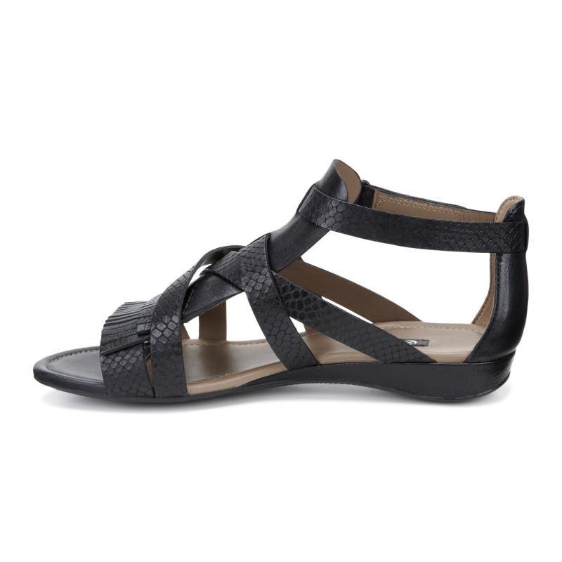 Womens Sandals ECCO Bouillion Sandal II Gladiator Black/Black