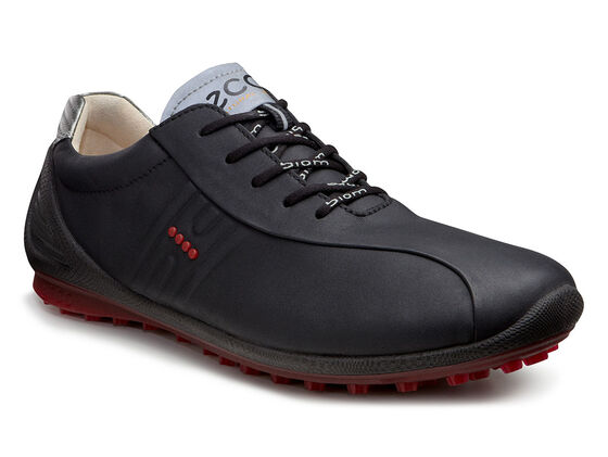 ECCO Mens BIOM Zero Golf (BLACK/BRICK)
