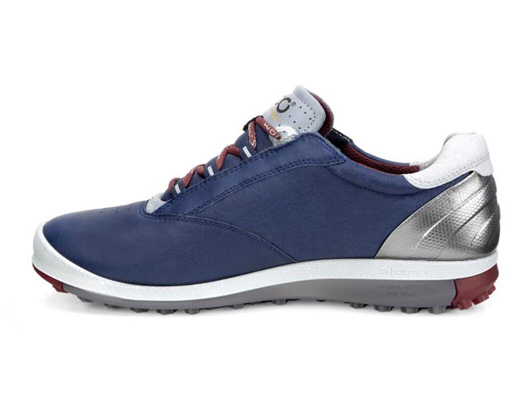 Brick Navy Ecco Womens Golf Shoes Biom Golf Hybrid 2 Womens True Enjoyed Feel