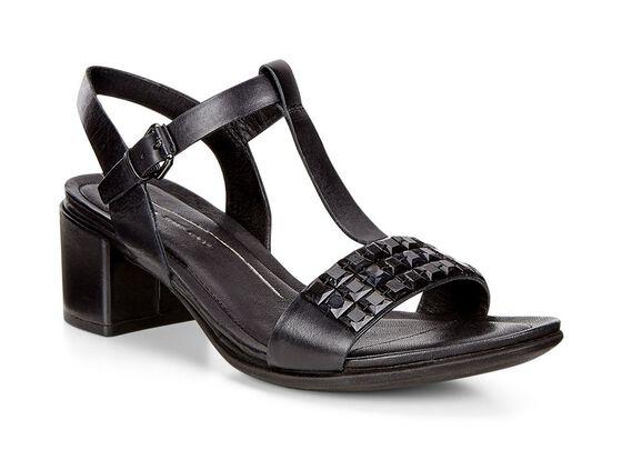 ECCO Shape 35 Studded Sandal (BLACK)