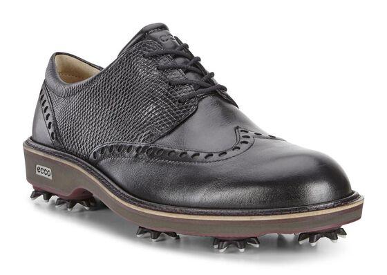 ECCO Mens Golf Lux (BLACK/BLACK)
