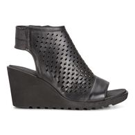 ECCO Freja Wedge Hooded SandalECCO Freja Wedge Hooded Sandal in BLACK (02001)