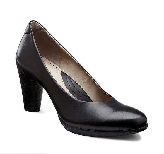 ECCO Sculptured 75 Pump (BLACK)