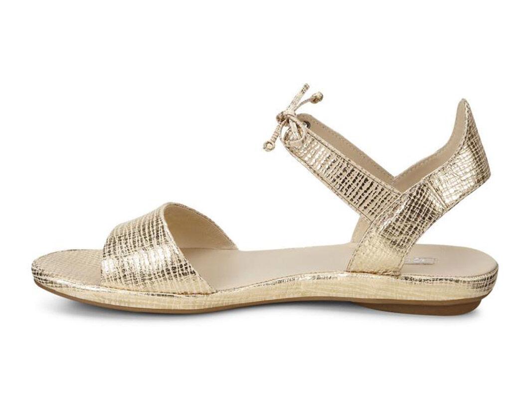 Ecco Tabora Ecco- Gold sandals