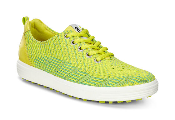 ECCO Womens Casual Hybrid Knit (LIME PUNCH-TOUCAN NEON/SULPHUR)