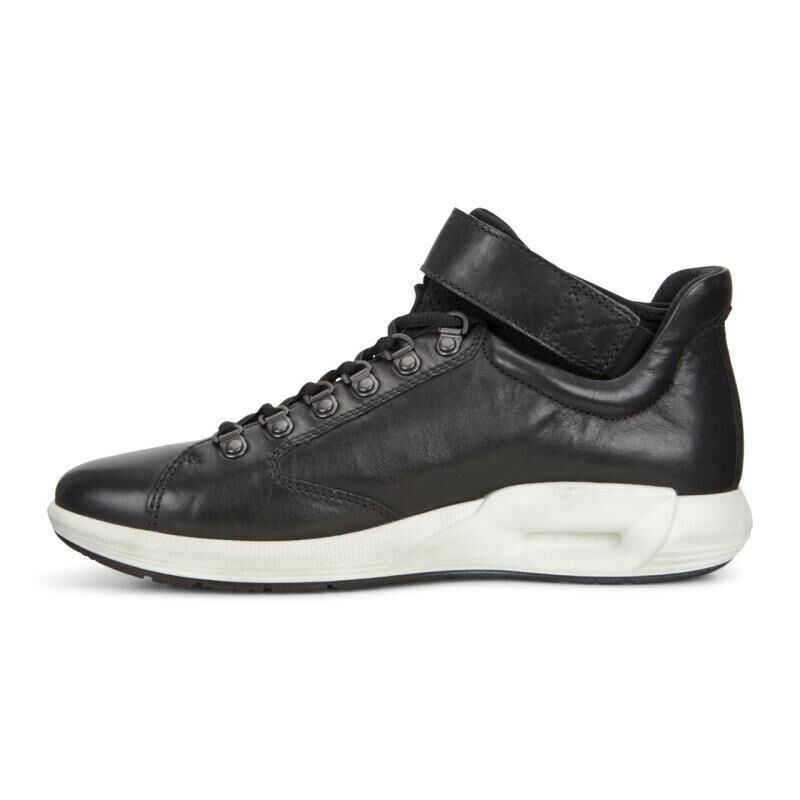 ... ECCO Mens CS16 HighECCO Mens CS16 High BLACK (01001) ...