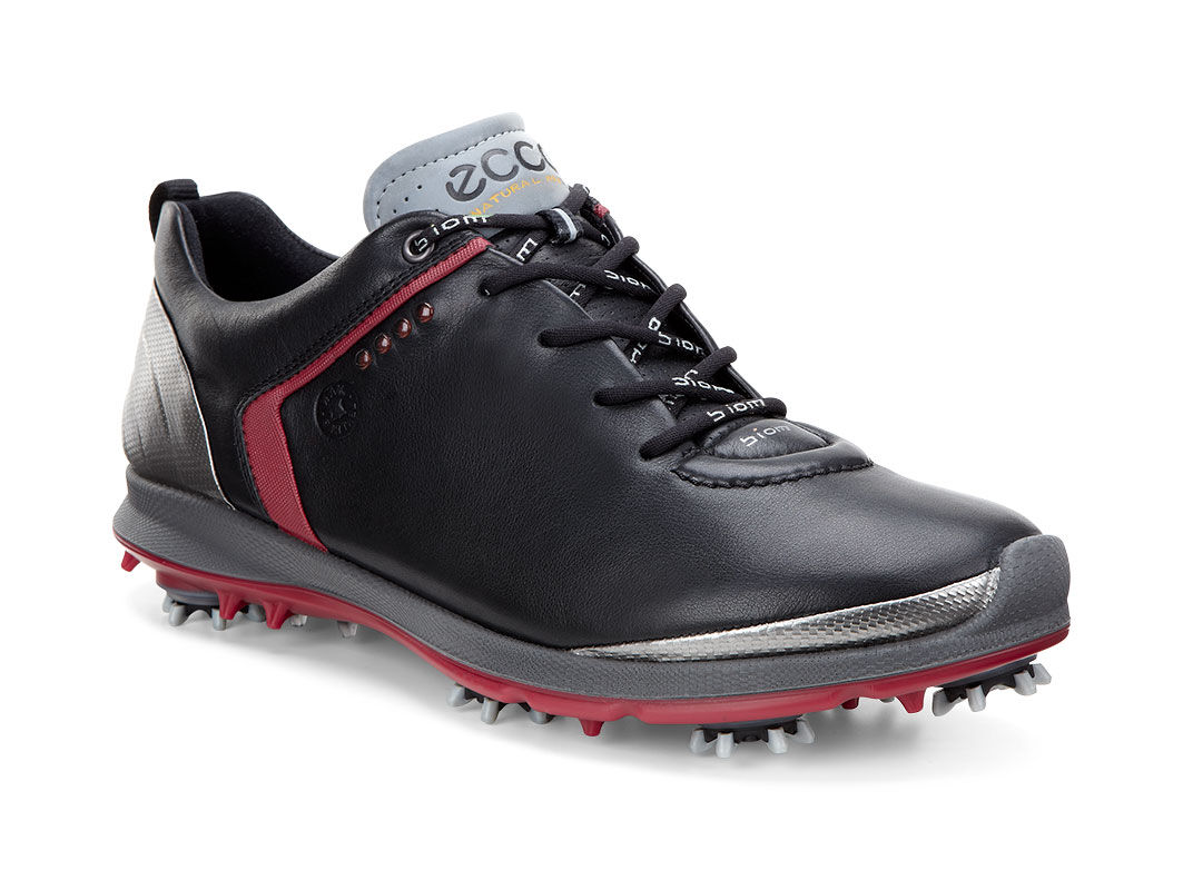 ECCO Golf - BIOM G 2 GTX (Black/Black) Men's Golf Shoes