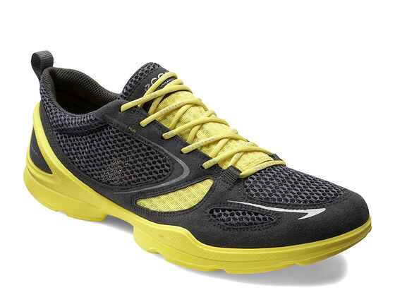 ECCO Mens BIOM EVO Race Lite (DARK SHADOW/DARK SHA./BUTTERCUP)