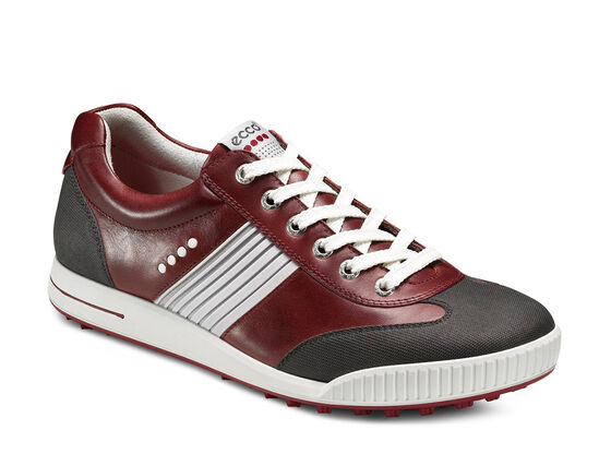 ECCO Mens Street Sport (DARK SHADOW/PORT/BRICK)