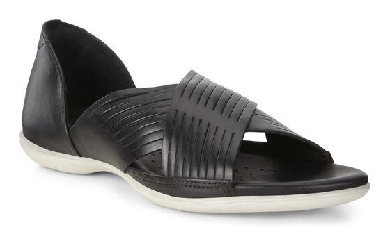 ECCO Flash Crisscross Sandal (BLACK)
