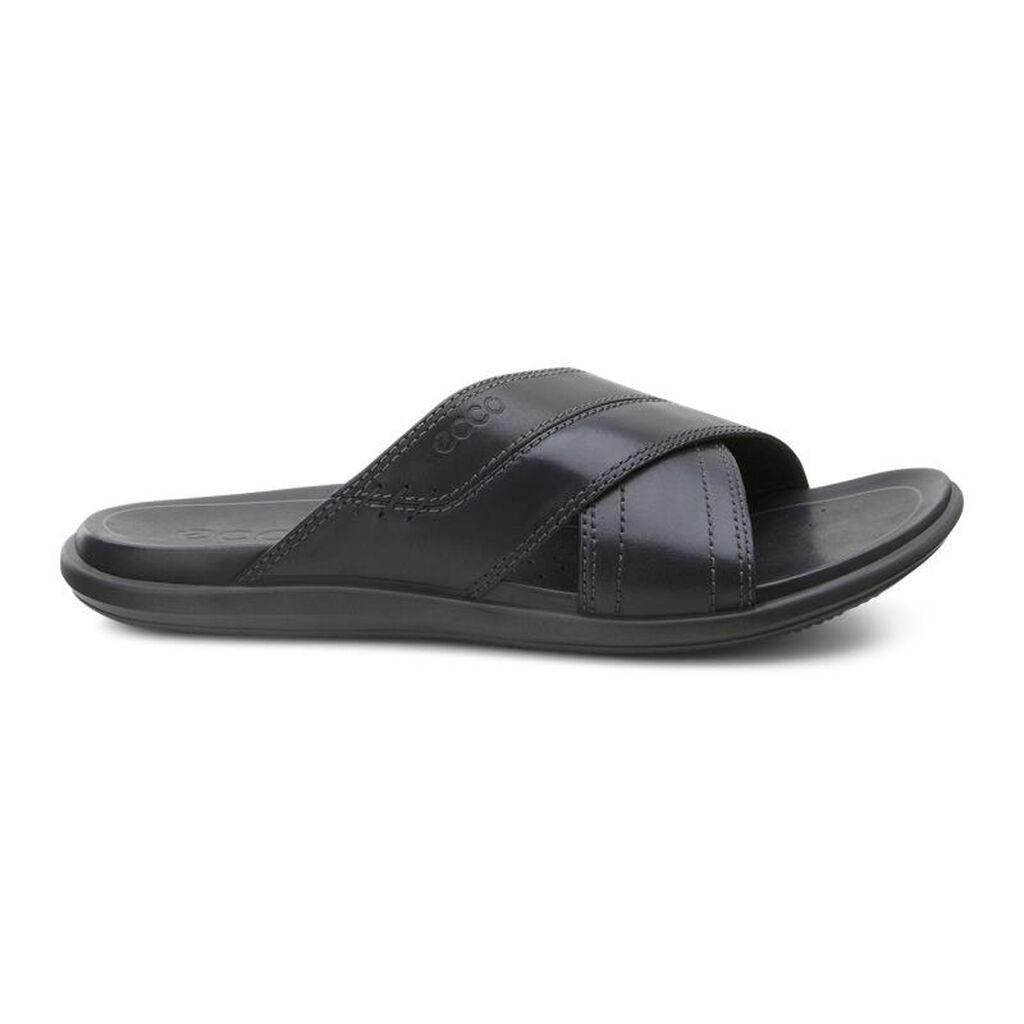 Ecco Chander Cross Slide Mens Sandals Ecco Usa