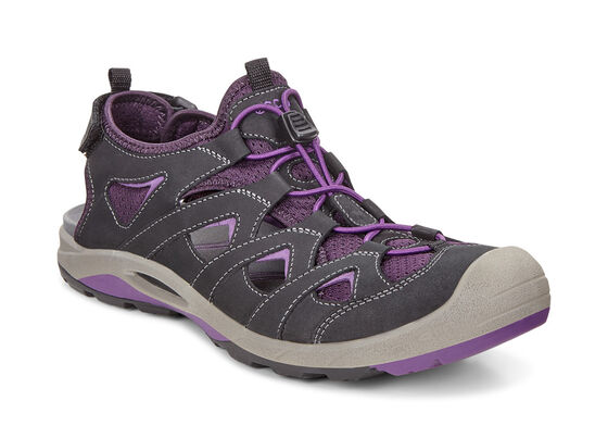 ECCO Womens BIOM Delta Offroad (BLACK/IMPERIAL PURPLE)