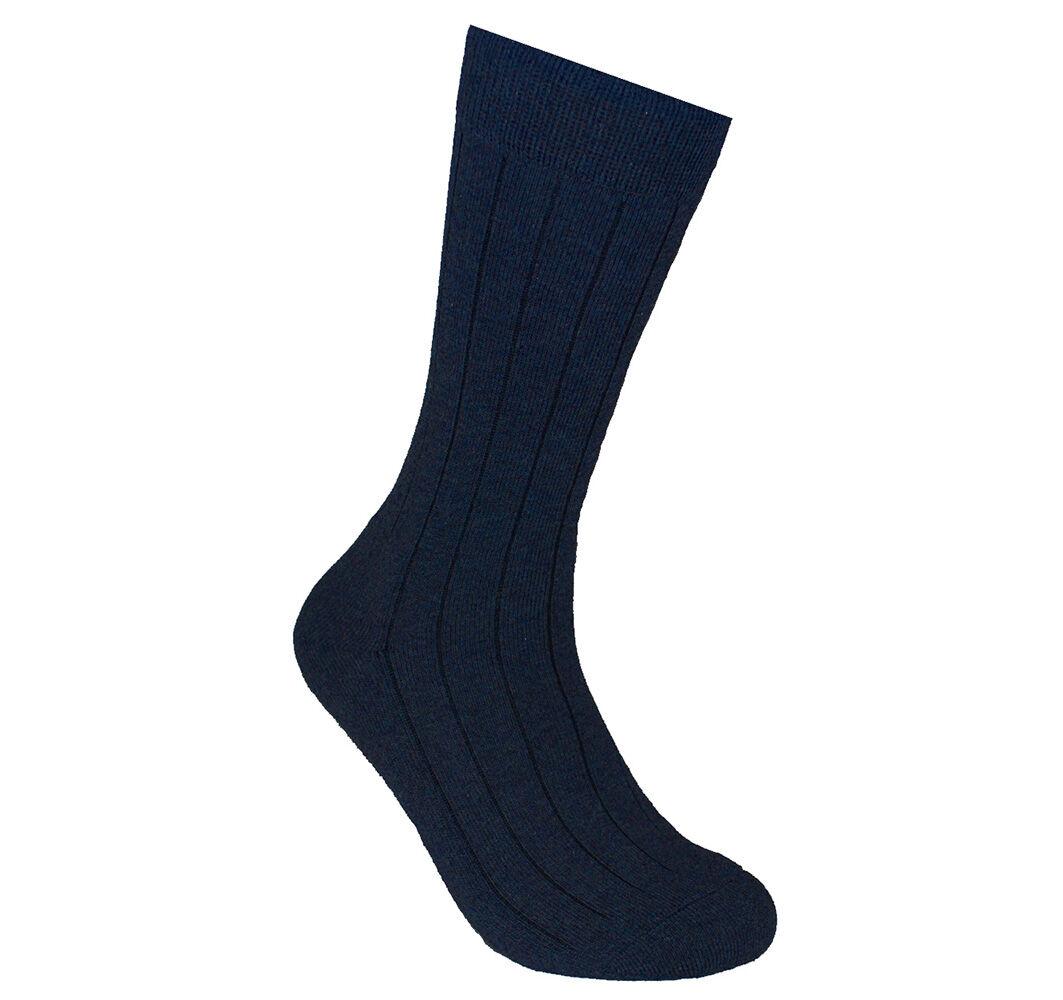 ECCO Men's Ribbed Dress Sock 0737426318470