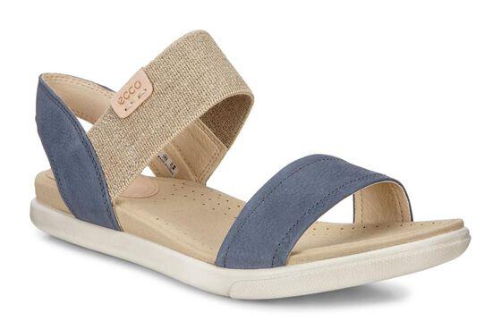 ECCO Damara Ankle Sandal (OMBRE/POWDER)