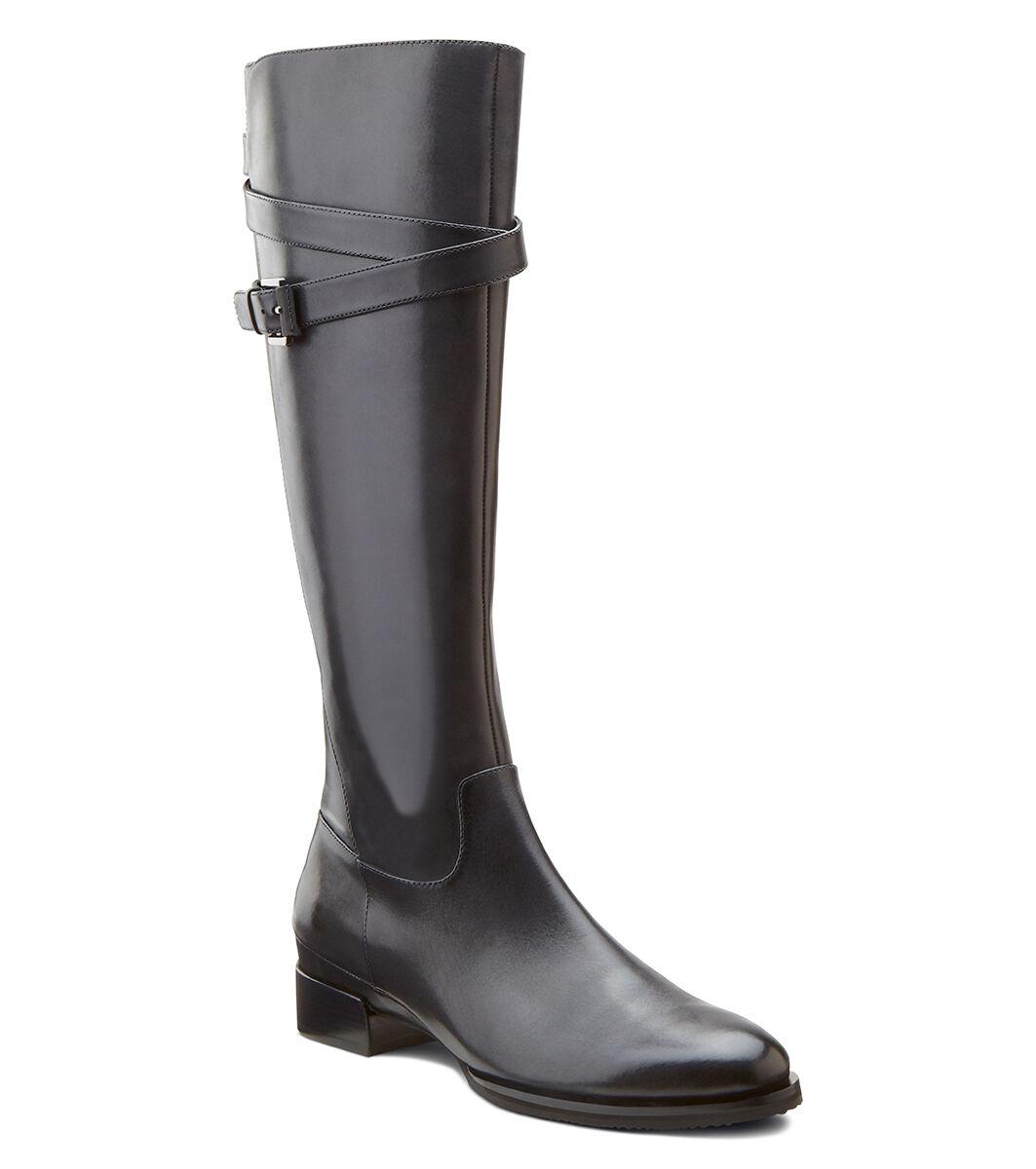 Womens Boots ECCO Sullivan Tall Strap Boot Black