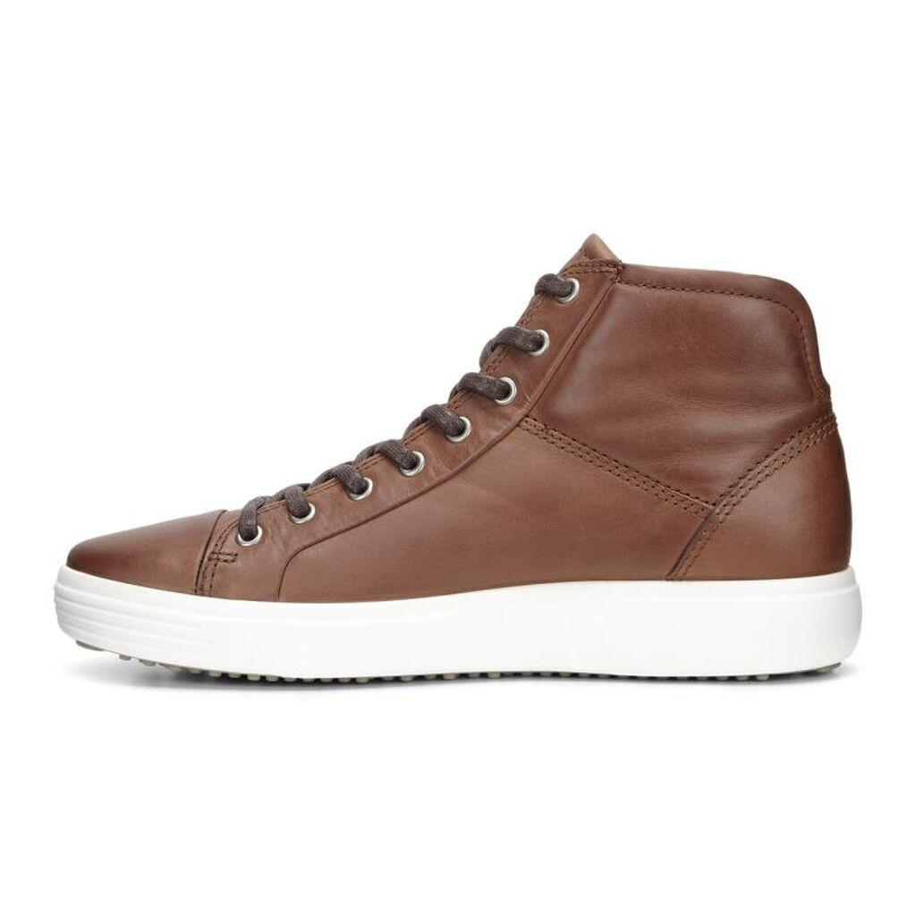 ECCO Mens Soft 7 High Top | Men's Boots | ECCO Shoes