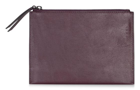 ECCO Sculptured Small Clutch (RUBY WINE)