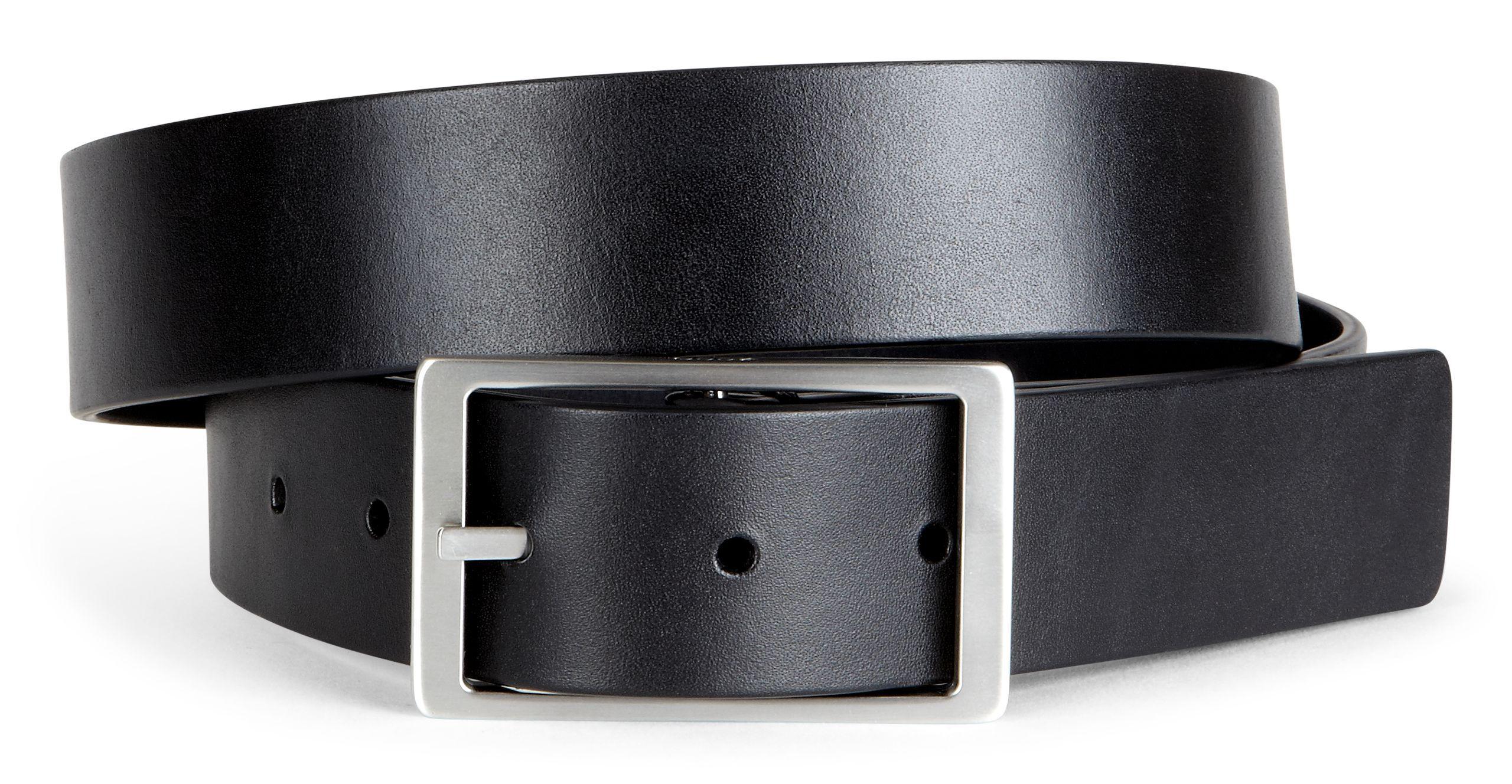 ECCO Hesa Reversible BeltECCO Hesa Reversible Belt BLACK/SLATE (90542) ...