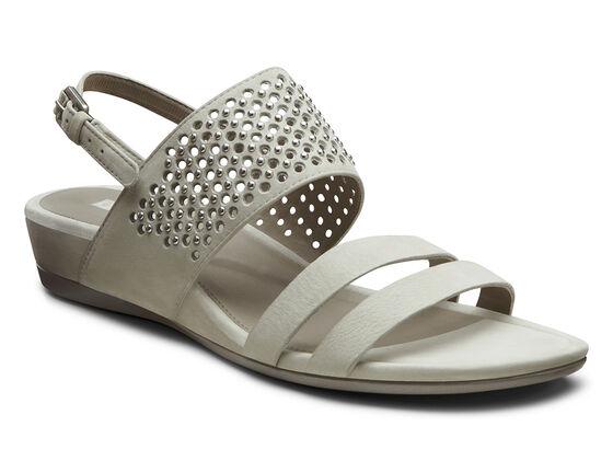 ECCO Touch Dress Sandal (GRAVEL)