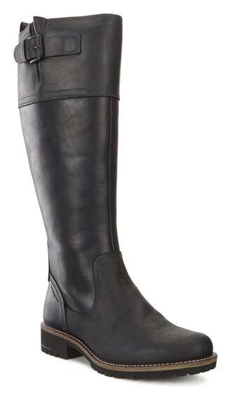 ECCO Elaine Tall Boot Buckle (BLACK)
