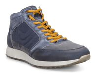 ECCO Mens Sneak HighECCO Mens Sneak High in NAVY/MARINE (59353)