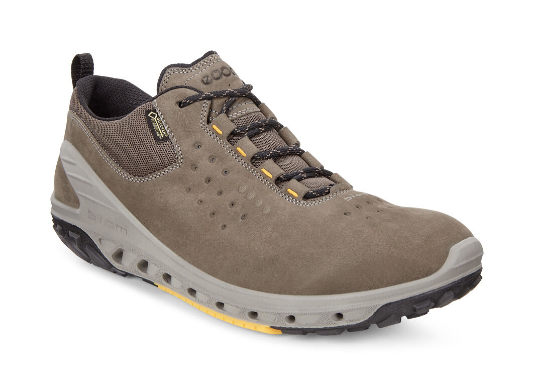 ECCO BIOM Venture GORE-TEX Tie Shoe(Men's) -Birch Yak Leather Geniue Stockist Sale Online Clearance Explore Newest Sale Online Manchester For Sale Free Shipping Explore 9XFCc82z3r