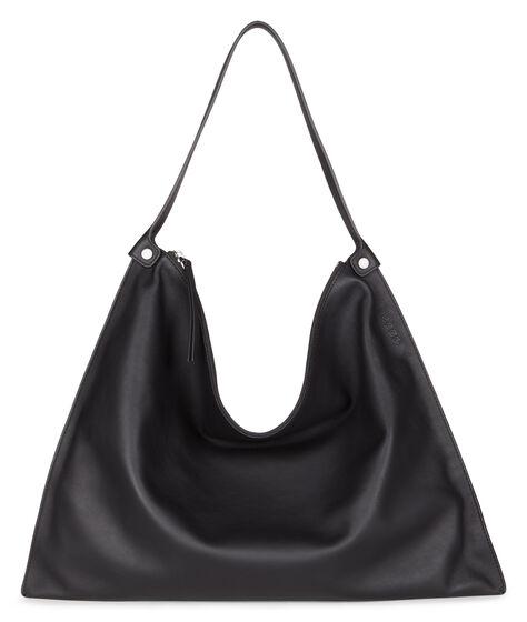 ECCO Sculptured Shoulder Bag (BLACK/BLACK)