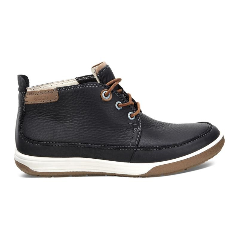 ... ECCO Chase II BootieECCO Chase II Bootie BLACK/WHISKY/BLACK (58774) ...