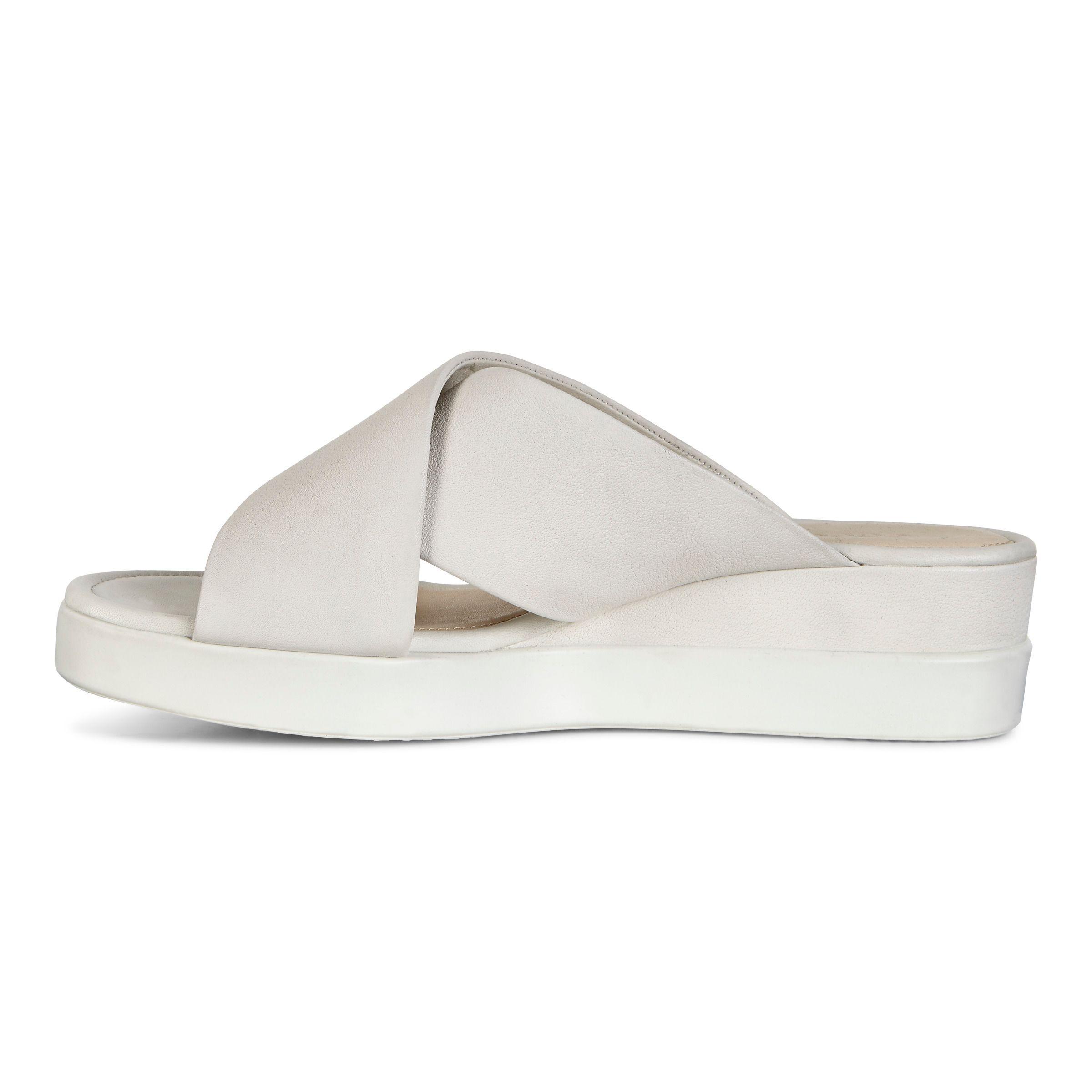 ... ECCO Touch Slide SandalECCO Touch Slide Sandal in WHITE (01007) ...